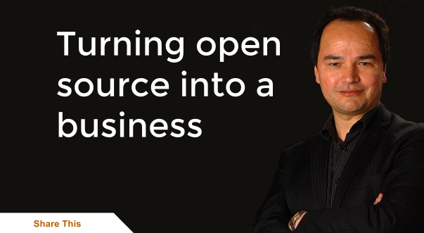 Turning Open Source into a business