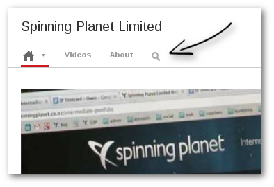 (Note: Click the search icon above our Intro video. This will allow you to search only our videos)